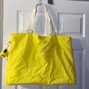 Kipling Large Yellow Tote